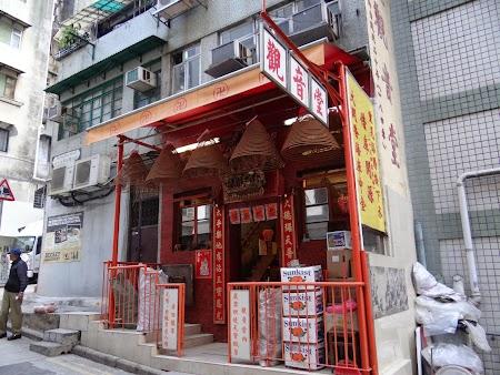 Anul Nou Chinezesc: Templu la bloc