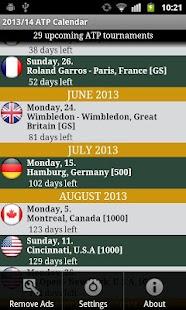 2014 ATP WORLD TOUR - screenshot thumbnail