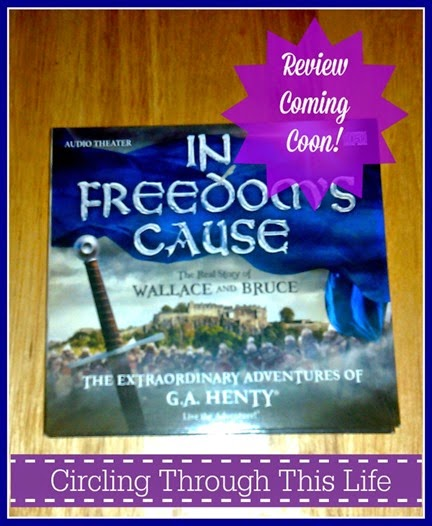In Freedom's Cause Audio Drama Adventure ~ Review coming soon to Circling Through This Lfe