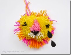 how to lion pompom 3