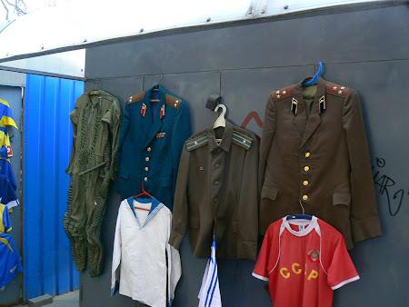 Suveniruri Ucraina: uniforme sovietice