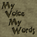 My Voice My Words Mulberry logo