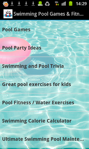 Swimming Pool Games Fitness
