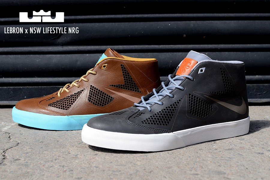 promo code dbb8d e6651 Release Reminder Nike LeBron X NSW Lifestyle NRG TwoPack