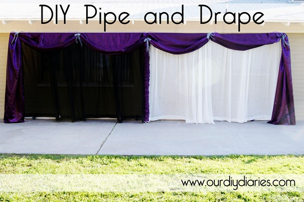 Blissful 55 Shower Me With Pretty Thing Diy Pipe And Drape