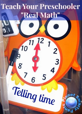 Teach Preschoolers to Tell Time
