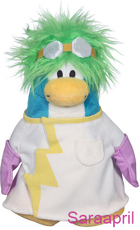 Club Penguin 6.5 Inch Plush - Rad Scientist :)