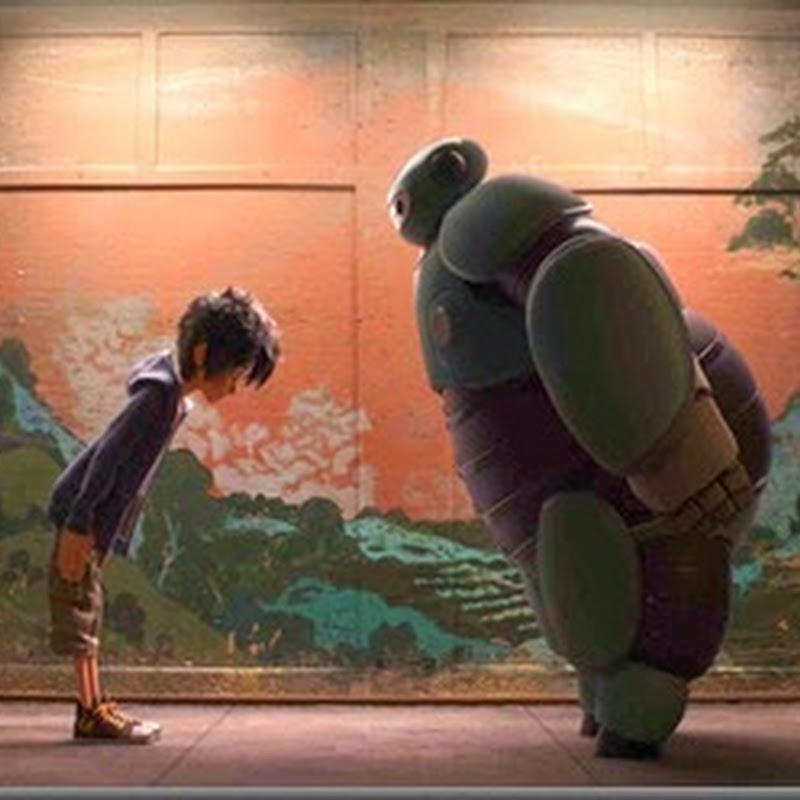 "A Boy and His Robot Go For an Adventure in ""Big Hero 6"""