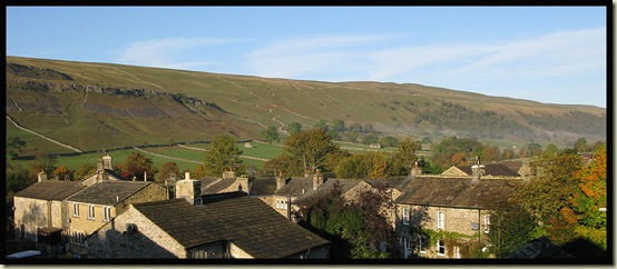 Morning view over Kettlewell
