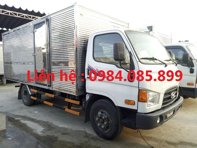 Hyundai Mighty 110s thùng kín 7 tấn