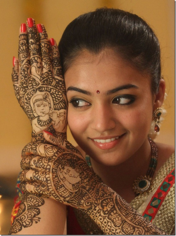 Actress Nazriya Nazim Stills in Thirumanam Ennum Nikkah