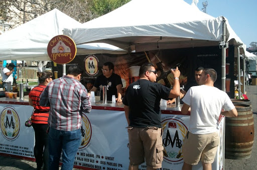 Old Mission Brewery at the Baja Beer Fest