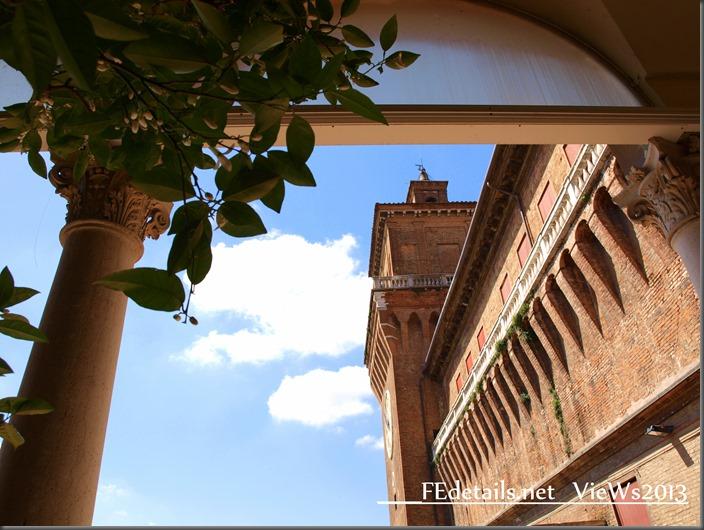 Pic of the day: Castello Estense dal Giardino degli Aranci, Ferrara, Italy