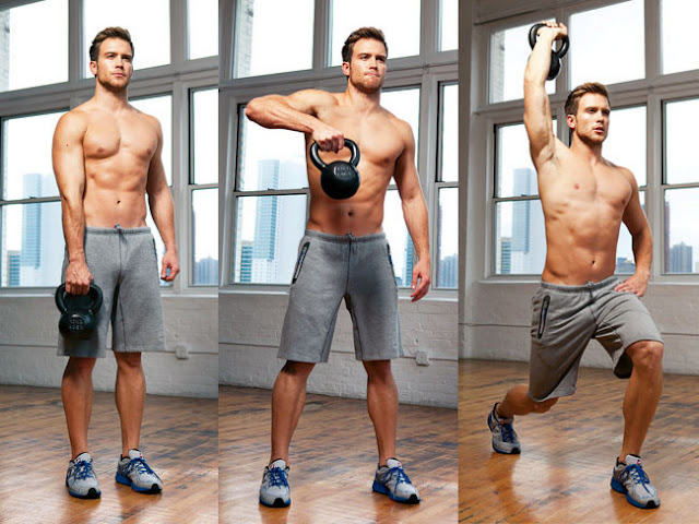 Cardio dumbbell bell