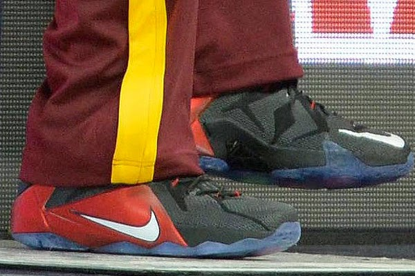 huge discount 395e7 15b51 King James Debuts 8220Bred8221 LeBron 12 PE in Loss vs Hawks ...