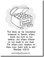 Totally Tots: In My Heart ~ Matthew 6:20-21