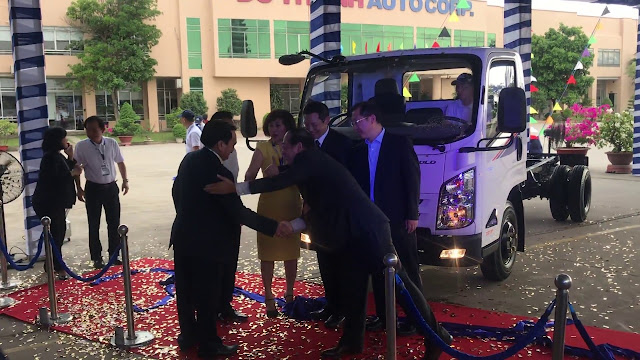Giới thiệu ô tô tải IZ65s Đô thành tại nhà máy