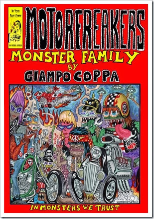 giampo copertina motorfreakers monster family