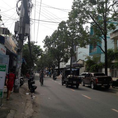 Bán nhà Mặt Tiền đường Thạch Lam Quận Tân Phú  4,5 tấm giá 12 tỷ