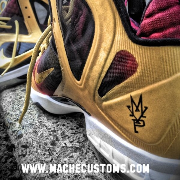 new concept e72fd 1c4eb If You8217re Sick of Waiting8230 LeBron 9 PS Elite MVP Custom by Mache .