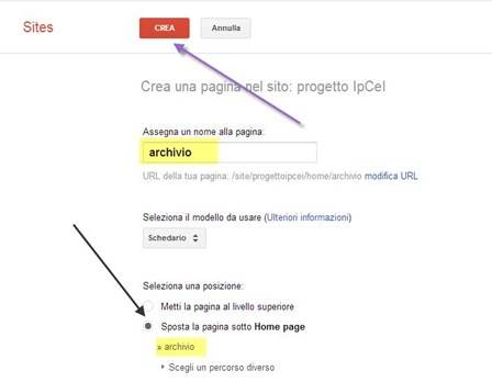 creare-archivio-file-google-sites