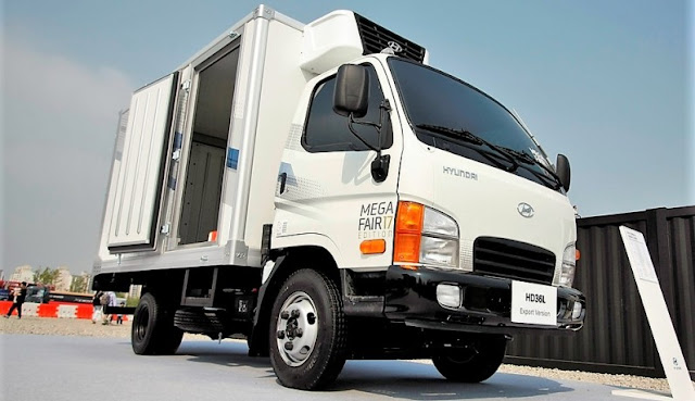 Xe tải Hyundai HD36L 1,9 tấn