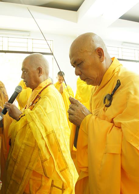 DSC06397 Lễ Hiệp kỵ   Lễ Huý Nhật Cư sĩ Sáng lập viên GĐPT Việt Nam   Tâm Minh Lê Đình Thám