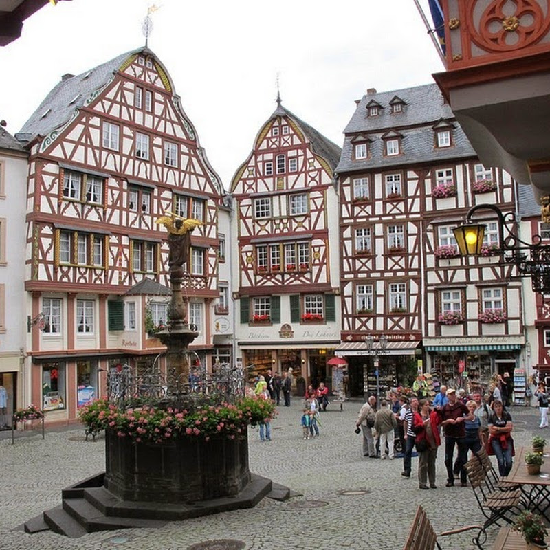The Medieval Market Square of Bernkastel-Kues