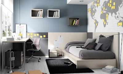 Dormitorio juvenil de la colección Niko de Kibuc