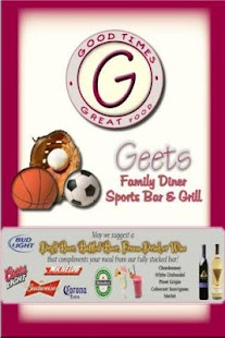 Geets Diner and Sports Bar- screenshot thumbnail
