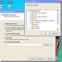 Imagem-recurva-localização de arquivo