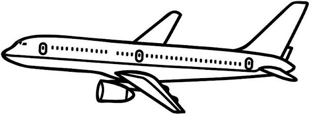 Aviones Dibujos Para Colorear