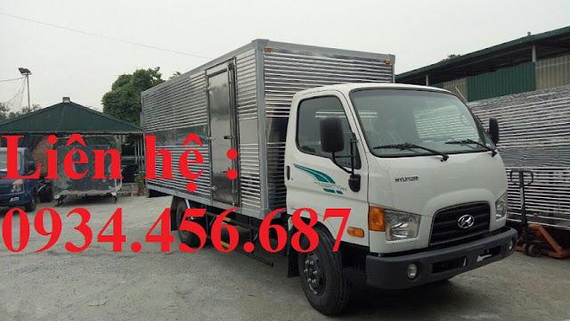 Bán xe 3.5 tấn nâng tải Hyundai 110s trả góp