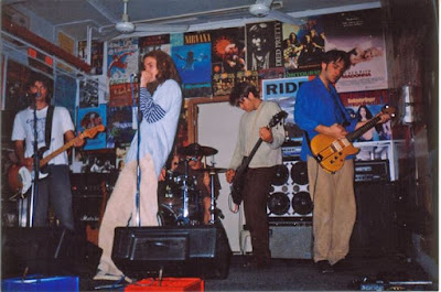 On 7 September 1996 Powderfinger played an afternoon instore at the now