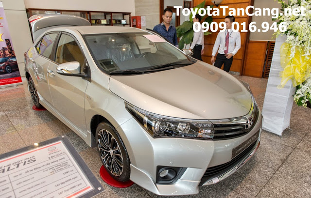 gia xe toyota altis 2015 - Kỷ niệm 20 năm thành lập khuyến mãi lớn khi mua xe tại Toyota Hùng Vương - Muaxegiatot.vn