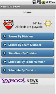 Heartland Soccer Mobile- screenshot thumbnail