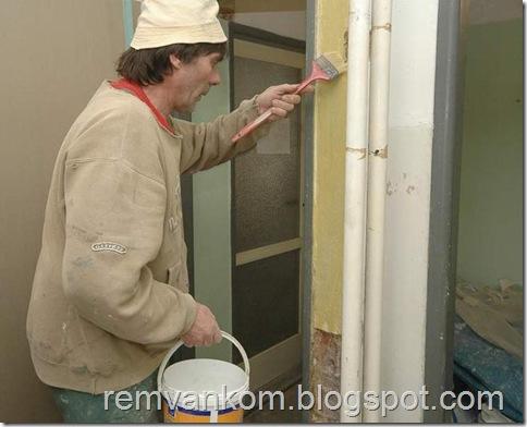 комплексной ремонт ванной комнаты 6