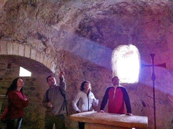 Interior de Santa Coloma de Fitor
