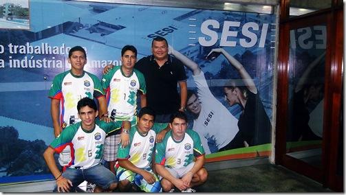 AMIGOS DE BARCELOS NA ABERTURA DA COPA DE FUTSAL TV AMAZONAS 2013