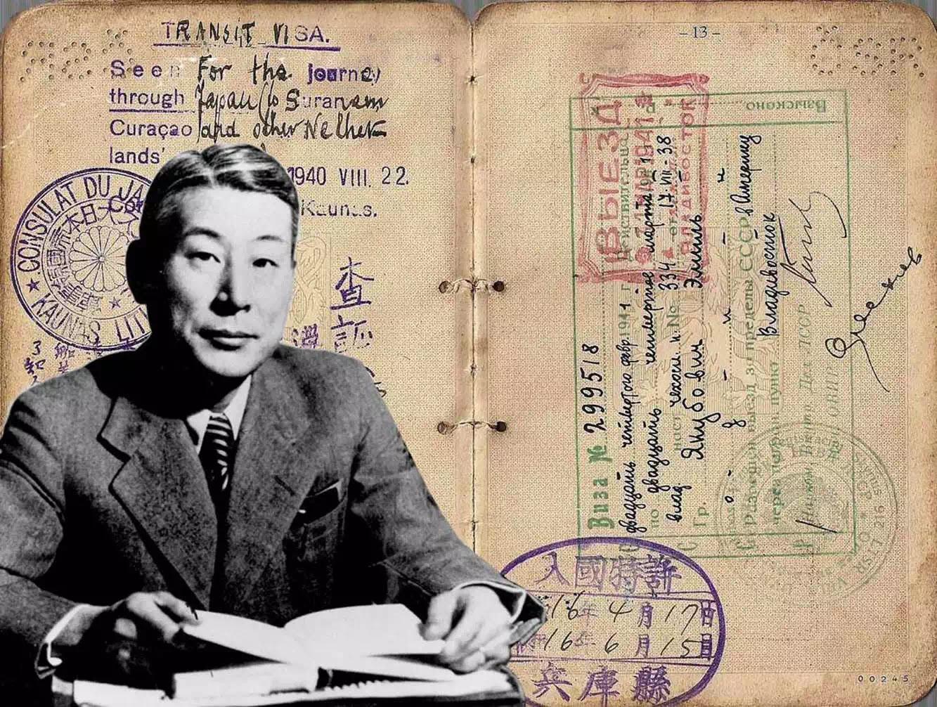 Sugihara Chiune và những tấm thị thực cứu mạng hàng ngàn người Do Thái.