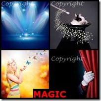 MAGIC- 4 Pics 1 Word Answers 3 Letters