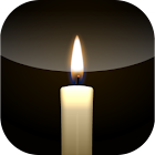 Virtual candle light icon
