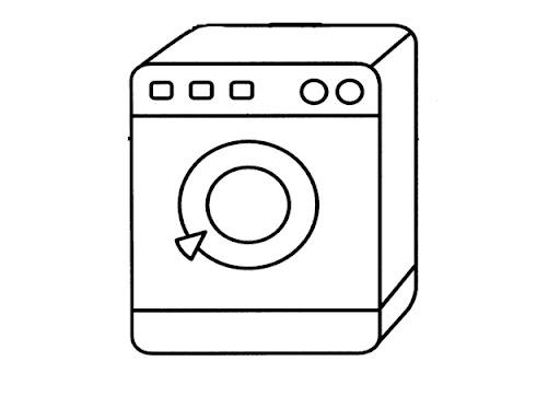 Lavadora Dibujo Para Colorear Imagui