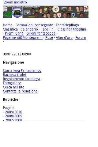 Mobile site generator+- screenshot