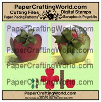 cutting file paper piecing apple box-200