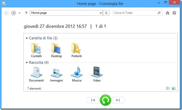 Home Page Cronologia file
