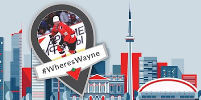 Toronto Follow CanadianTire on Twitter WheresWayne for the chance to meet me