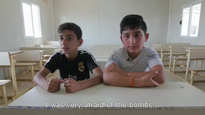 More EmergencyLessons from UNICEF Ali Gaith two boys from Iraq who have