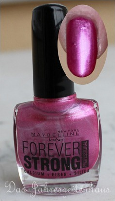 Maybelline Jade Forever Strong - 11 - Metallic Rose