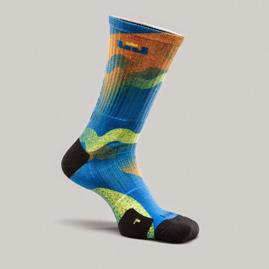 big sale df089 f3827 nike lebron 12 socks